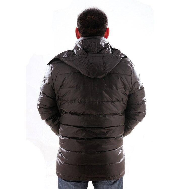 Nuovo arrivo a medio lungo ispessimento giù cappotto extra large grandi Uomini giacca più il formato XL 5XL 6XL 7XL 8XL 9XL 10XL 11XL 12XL 13XL-in Giubbotti di piumino da Abbigliamento da uomo su  Gruppo 2