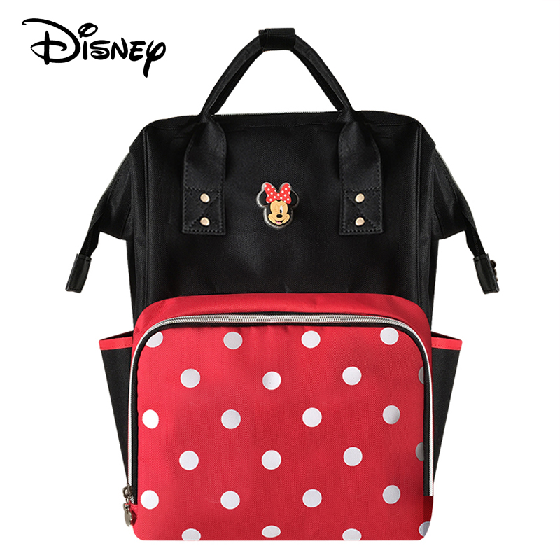 Disney Mummy diaper bags Water-proof Bottle Insulation backpack Nappy Stroller Bag for baby born 2019 NewDisney Mummy diaper bags Water-proof Bottle Insulation backpack Nappy Stroller Bag for baby born 2019 New