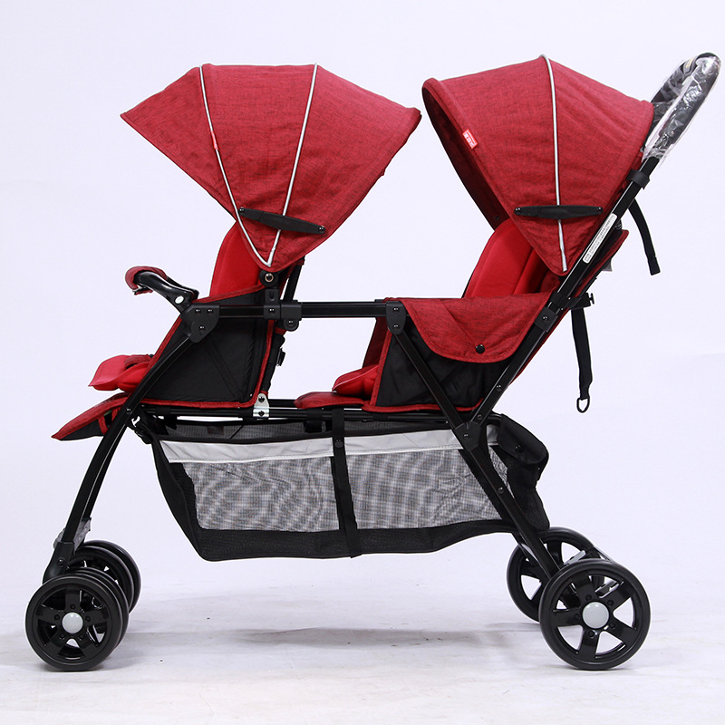 babyfond  twin Baby Stroller high quality  Ultra-lightweight baby carriage  Double Car Child Car can sitting and Lyingbabyfond  twin Baby Stroller high quality  Ultra-lightweight baby carriage  Double Car Child Car can sitting and Lying