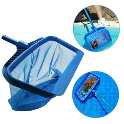 Leaf Rake Fine Mesh Net Skimmer Swimming Pool Pond Spa Cleaning Tool