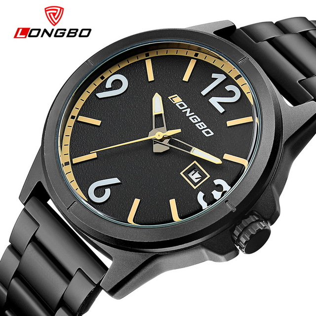 2017 Luxury Brand Men Military Sports Watches Men's Quartz Hour Clock Male Full Steel Wrist Watch Relogio Masculino LONGBO 3003 велосипед rock machine surge 50 2013