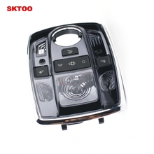 SKTOO For Peugeot 508 front dome light control panel LED front reading light car interior ceiling light