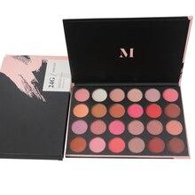24 cores Rosa de Ouro Matte Shimmer Da Paleta Da Sombra Sombra Paleta de Maquiagem Profesional Sombra de Olho Paleta De Sombras 24g