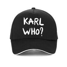 Karl Lagerfeld cap Unisex Summer 2019 new KARL WHO printing baseball Harajuku adjustable snapback hats gorra hombre