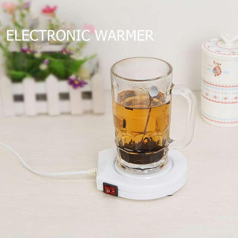 60 Degrees Thermostatic Thermal Insulation Dish Electric Warmer Heater Milk Bottle Teacup Warmer Heater Cup Mug Warming Trays portable electric heating coasters water heater desktop coffee milk tea warmer heater cup mug warming trays 5 colors office home
