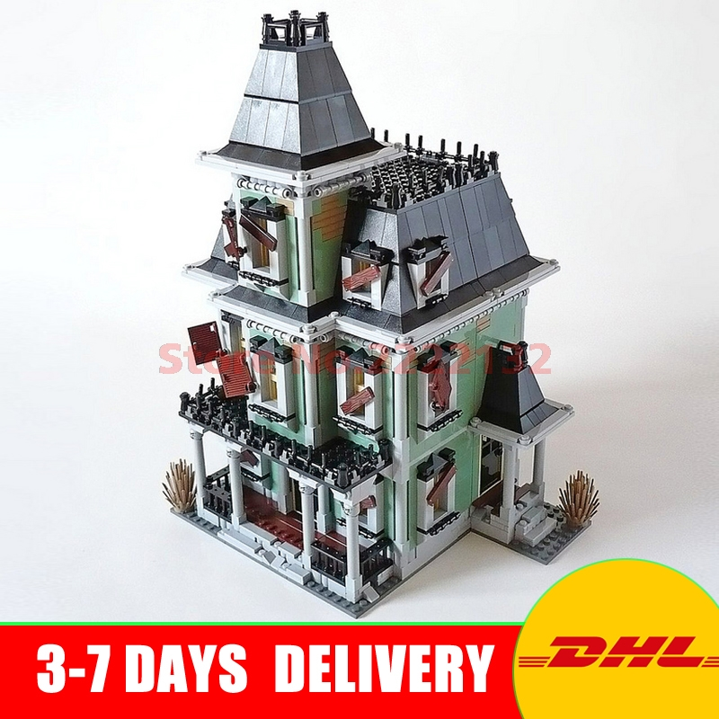 DHL Free LEPIN 16007 2141Pcs Monster fighter The haunted house Model set Building Kits Model Compatible 10228 In Stock the haunted