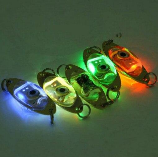 LED Lure Light Flash Lamp Deep Drop Underwater Eye Shape Fishing Squid Fish for Catching Fish