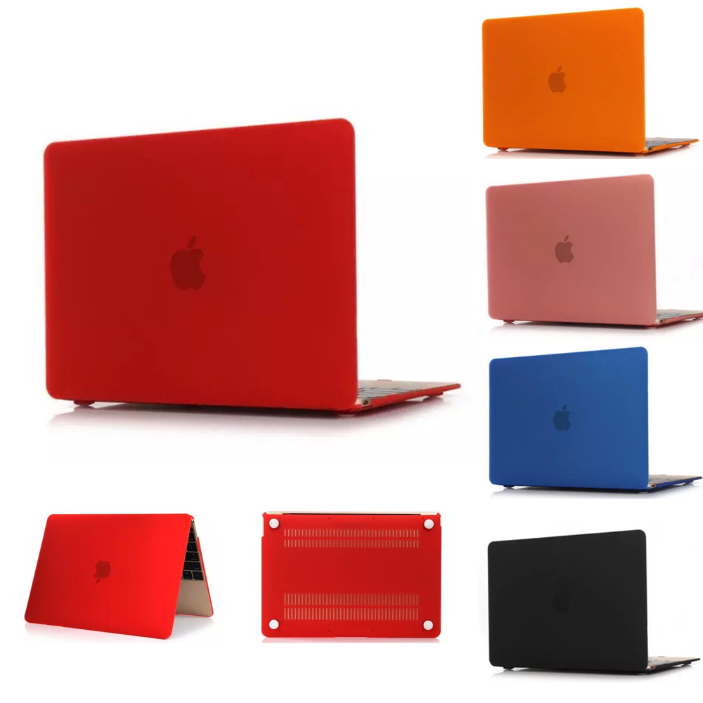 Crystal laptop Case 9colors for Macbook pro case protective shell 13 15 sleeve