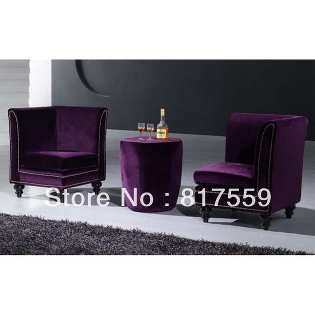 Astonishing Us 688 0 Sofa Chair Purple Sofa Chair Purple Sofa In Living Room Sofas From Furniture On Aliexpress Ibusinesslaw Wood Chair Design Ideas Ibusinesslaworg