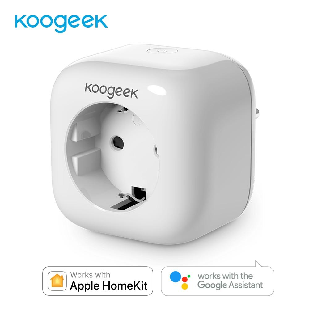 Koogeek Smart Remote Control Wifi Socket Plug EU Power Cube Siri Voice Control for Apple HomeKit