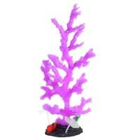 Moderne Aquarium Aquarium Landschapsarchitectuur Decoratie Paars Glow Lijm Simulatie Dendritische Coral Plant Ornamenten
