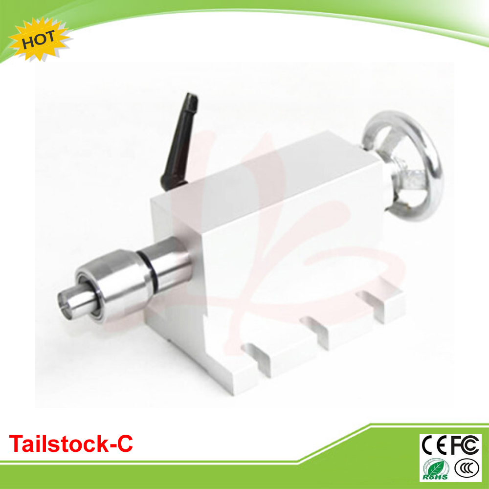 CNC rotary axis tailstock activity tailstock-C for mini CNC router price  rotary axis mini router cnc