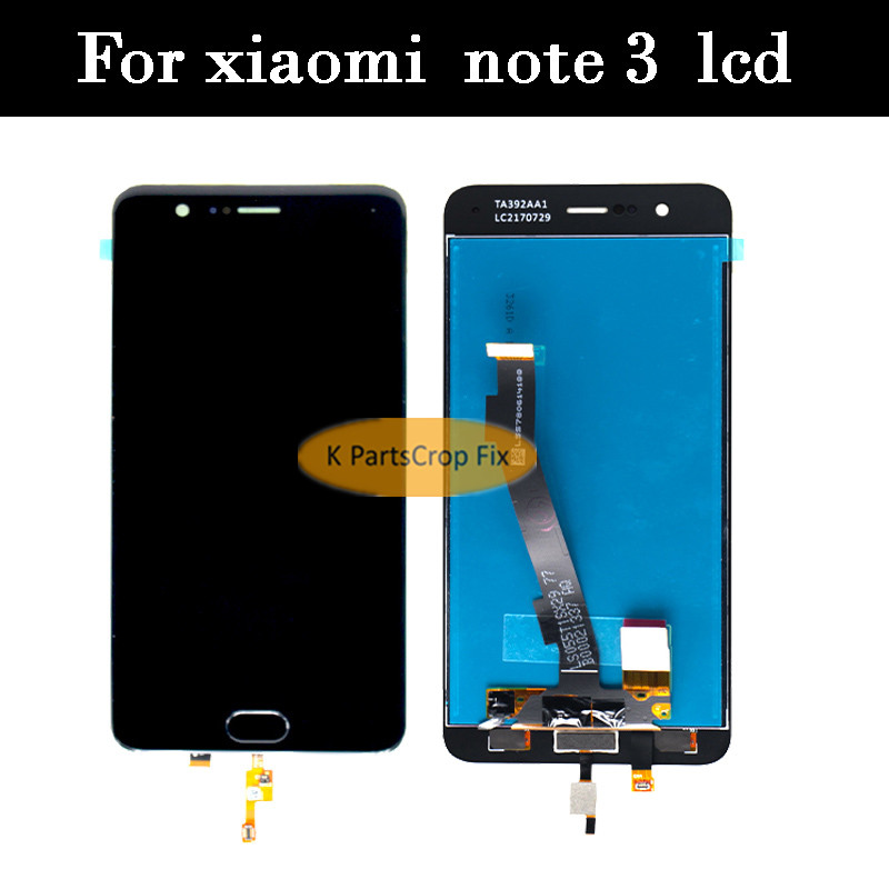 100 Tested LCD screen display touch panel digitizer For 5 5 xiaomi note 3 Mi note