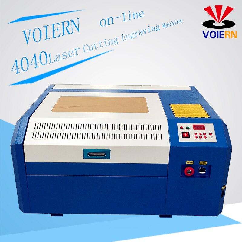 Libérez le bateau à Moscou! 50 w laser machine de découpe WR4040 co2 laser machine de gravure bricolage mini contreplaqué de coupe Coreldraw soutien