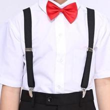 Черные Детские подтяжки в стиле ретро для мальчиков с ремешками для путешествий, для регулировки тренда, Корейская версия
