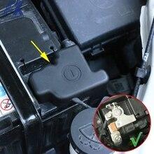 AX двигателя автомобиля Батарея анод отрицательный провод зажим защитной крышкой Кепки для Buick Encore Opel Vauxhall Astra Mokka X