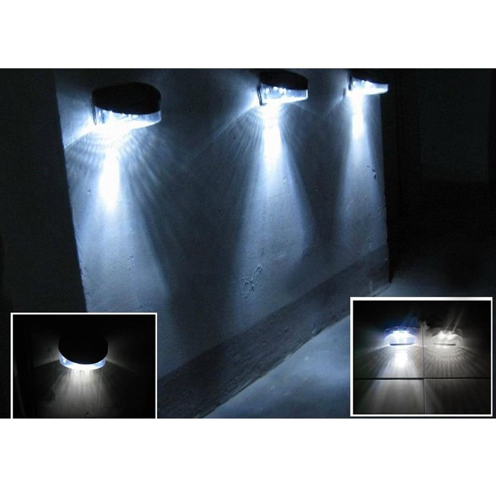 Portable Outdoor Waterproof 2 LEDs Outdoor Solar Led Flood Lights  Spotlights Garden Patio Pathway Lamps