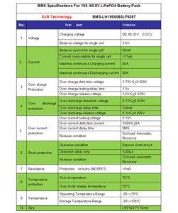 Image 2 - 19 S 60A versione S LiFePO4 BMS/PCM/PCB batteria protection board per 19 Packs 18650 Cellula di Batteria w/Balance w/Temp