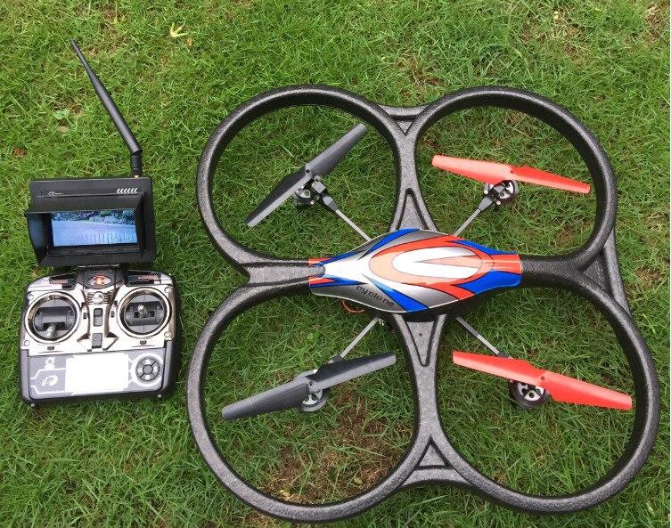 Быстрая доставка WLtoys V666 Квадрокоптер с дистанционным управлением Drone с Камера HD 2MP в режиме реального времени передачи CF режим дистанционно