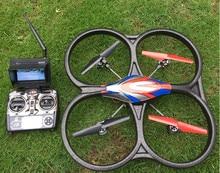 Быстрая доставка WLtoys V666 Мультикоптер Дрон wtih Камера HD 2mp FPV-системы реального времени Трансмиссия CF режим Дистанционное управление вертолетом