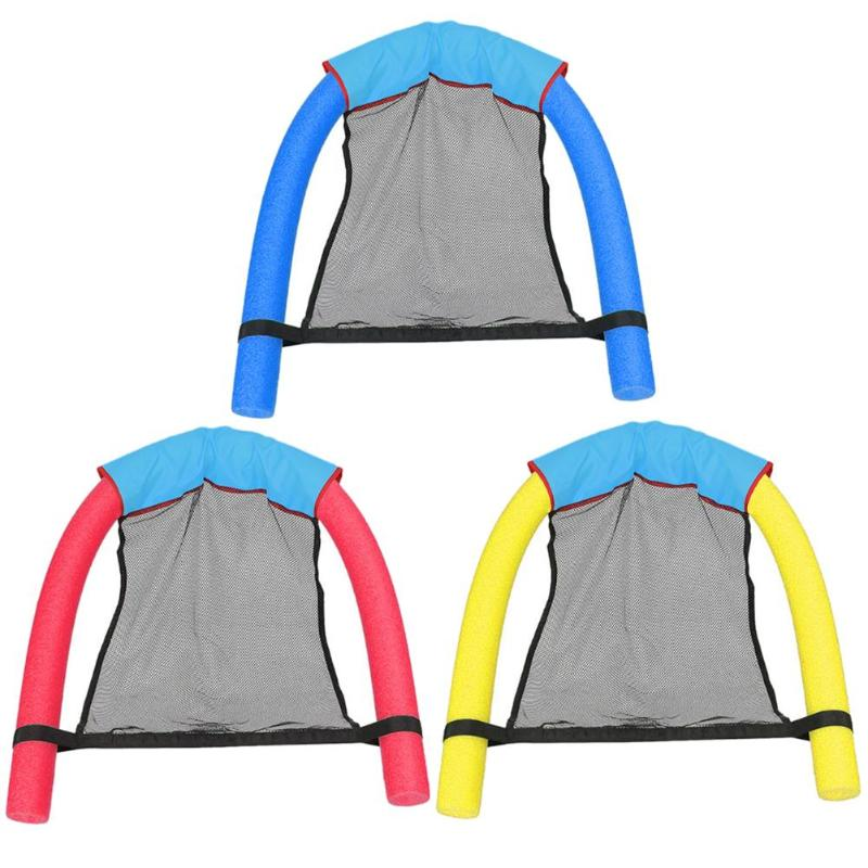 Floating Chair Swimming Pool Seat Buoyancy Swimming Ring Accessory 3 Colors Childrens sports toys