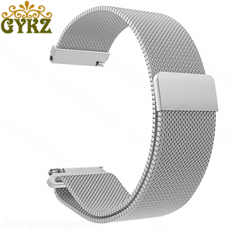 GYKZ Watch Bands For Samsung Gear S3 Classic 22mm Stainless Steel Band Milanese Loop Mesh Replacement Strap Hot Sale стоимость