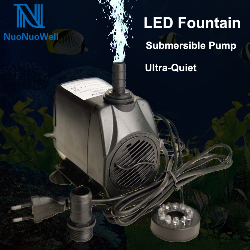 Led Light 15w Submersible Water Pump