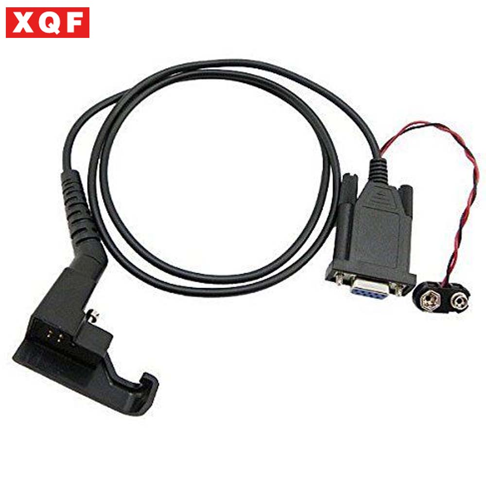 XQF Programming Cable For Motorola HT600 MT1000 P200 MTX800 Two Way Radio