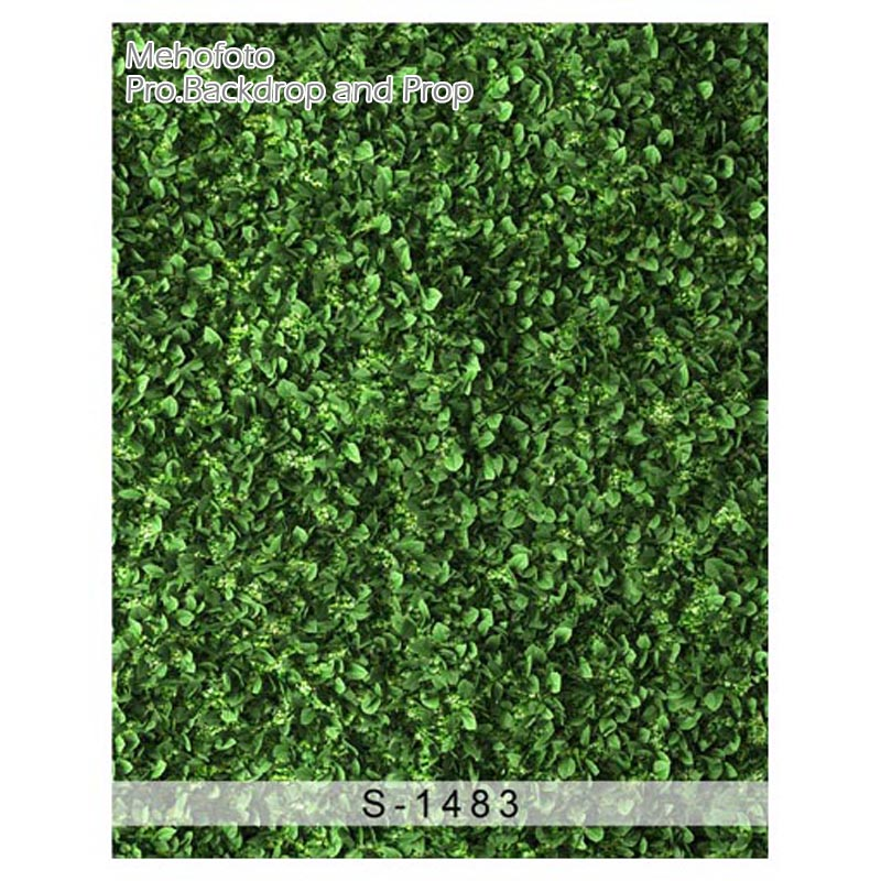 Vinyl Photography Backdrops Green Leaves Wall Photo Background Custom Children Photography Backdrops for photo studio S-1483 300cm 300cm vinyl custom photography backdrops prop digital photo studio background s 4748