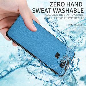 Image 3 - Cloth Hard PC Case For Asus Zenfone 6 ZS630KL Case Soft TPU Bumper Back Cover For Asus Zenfone 6Z Simple Shokcproof Case Coques