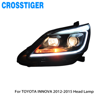 FOR Toyota Innova 2012 2013 2014 2015 HEAD LAMP LED DRL HEADLIGHT ASSEMBLY LAMP