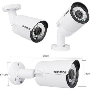 Image 2 - Techege 4CH CCTV система 1080P PoE NVR металлическая наружная 2.0MP IP камера система Onvif Cloud 1080 NVR комплект Обнаружение движения ночное видение