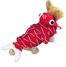 Retail New Coming Red Goldfish Style Pet Dogs Coat  Free Shipping By china post  new clothing for dog