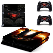 Batman VS Superman decal PS4 Skin Sticker for Sony Playstation 4 Console & 2 Controller Protective Sticker