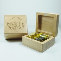Wooden Harry Potter Music Box Special Souvenir Gift Box Birthday Gifts Free Shipping