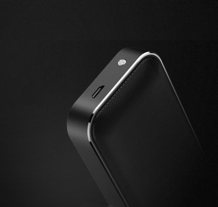 BT207 Портативный карман Беспроводной Bluetooth Динамик мини небольшой металлический Музыка Sound Box Handsfree Открытый бас сабвуфер для телефона