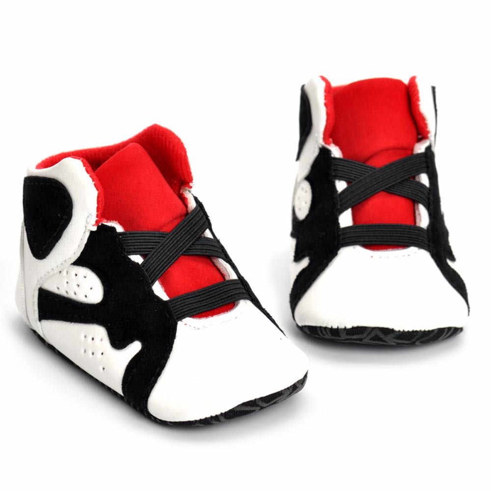 Newborn Crib Shoes Fashion Casual Baby Shoes Newborn Infant Kid Girls Boys Crib Shoes Soft Sole Anti Slip Leather Baby Sneakers Shoes 18m