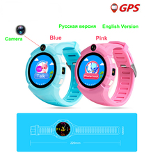 2018 Vm50 Kids Smart Watch with Camera GPS WIFI Location Child smartwatch SOS Anti-Lost Monitor Tracker baby WristWatch