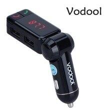 Fm-передатчик vodool громкой связи передатчик автомобильное динамик fm плеер аудио bluetooth