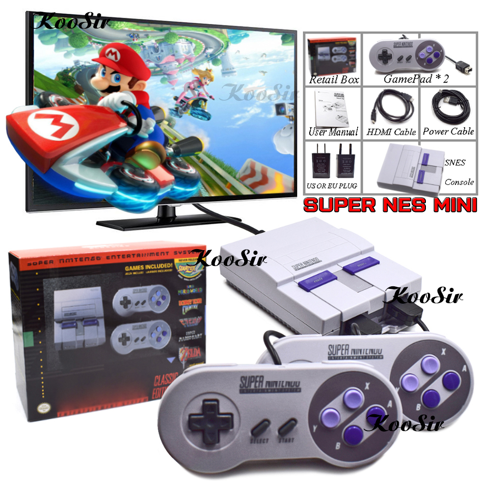 Super HD HDMI Output SNES Mini Retro Game Classic Handheld Video Games Player TV Mini Game