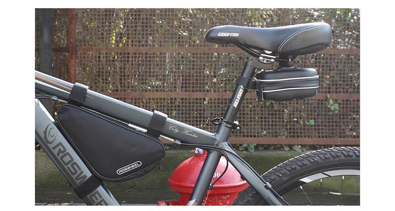 UK EVA Waterproof Mountain Road Cycling Saddle Bag Bicycle Bike Under Seat 1L