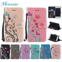 Luxury Flip Leather Case For Apple IPhone 5C Case 4 0 Colourful Flower Wallet Stent Cover