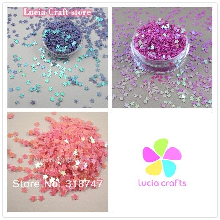 10g/20g 3mm Flower Shape Flake Rainbow <font><b>Cup</b></font> <font><b>Sequin</b></font> Wedding Confetti 24010034