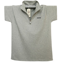 Solid Polo Shirt Men Brand Clothing New Summer Polo Shirt Pure Cotton Short Sleeve Mens Polos
