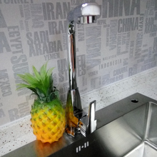 Бесплатная доставка современная ванная комната кран, латунь хром польский одной ручкой водопад ванной смеситель для раковины кран