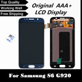 100% Tested Replacement LCD for Samsung Galaxy S6 G920 G920F LCD Display White/Dark Blue/Gold Screen with Touch Screen Digitizer