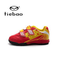 Tiebao Professional Children TF Turf Football Boots Teenagers National Flag Training Soccer Shoes Boy Sneakers Zapatos de futbol