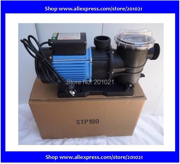 WHIRLPOOL LX STP100 SWIMMING POOL PUMP hot tub pond Motor 750W 1hp Max Flowrate 275 Lmin