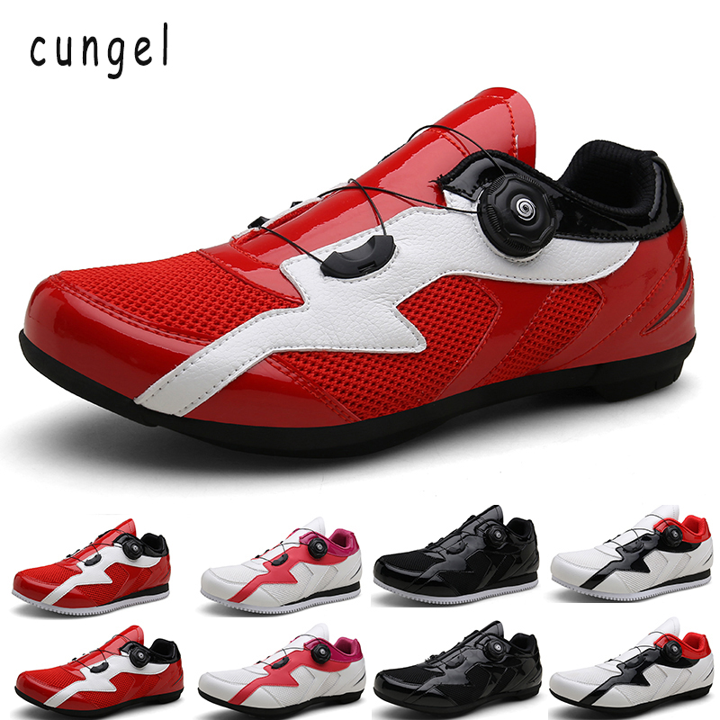 Chaussures de cyclisme homme CUNGEL chaussures de vélo de route VTT chaussures de vélo vtt