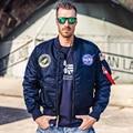 NASA Jacket Men Women MA-1 Bomber Embroidery Coat Alpha Industries Flight Air Force Pilot Jacket Thick Warm NASA Jacket